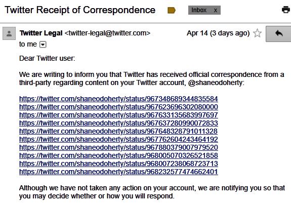 TwitterLegal