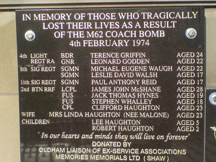 M62Coach Bombing