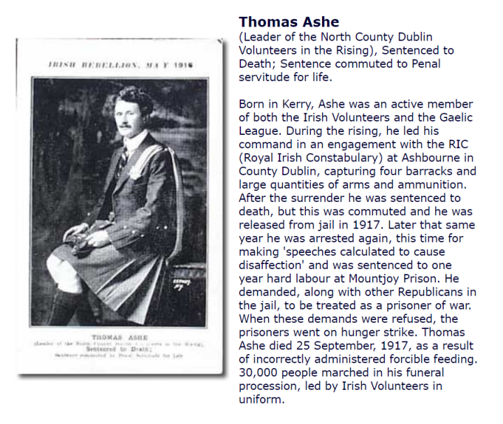 Thomas Ashe Postcard