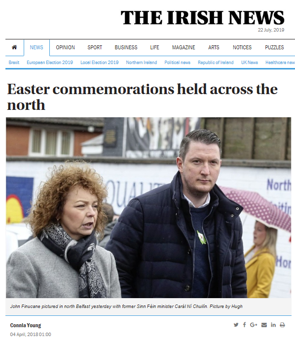 EasterCommemApril2018John