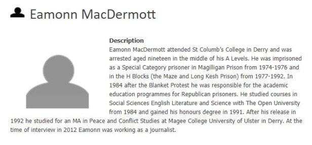 Eamonn MacDermott Porkie Pies